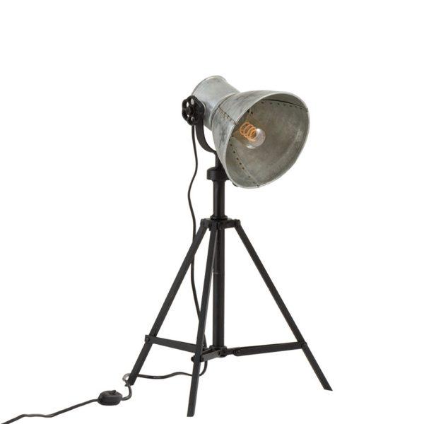 Metal bordlampe