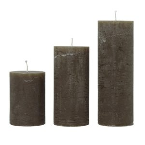 Rustic candle SUCCADE