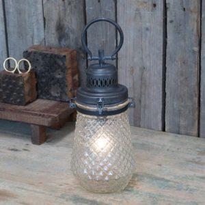 Chic Antique fransk lanterne inkl. pære