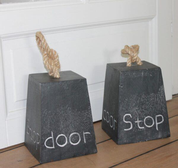 Dørstopper Sort