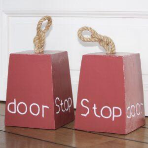 Dørstopper Rød