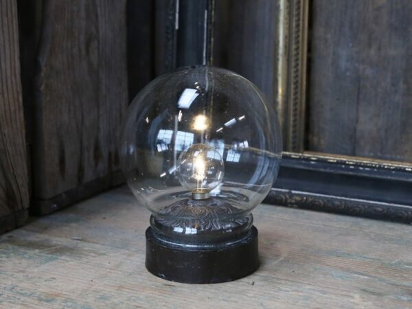Chic Antique Lampe m. pære