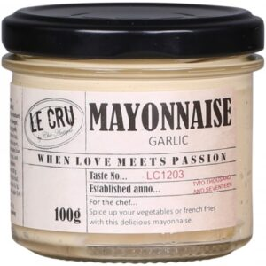 LE CRU Mayonnaise m. hvidløg