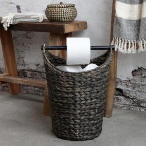 Chic Antique kurv m. toiletpapirsholder