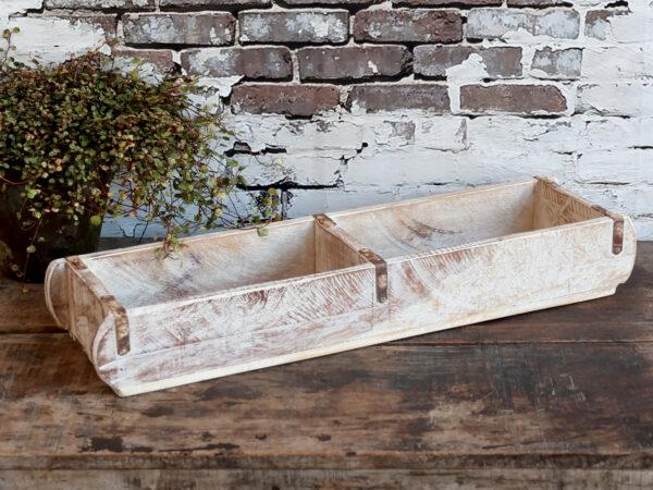 Chic Antique dobbelt Murstensform antique hvid
